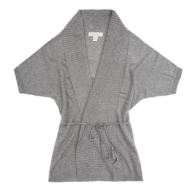 Short Wrap Kimono Sleeve Robe