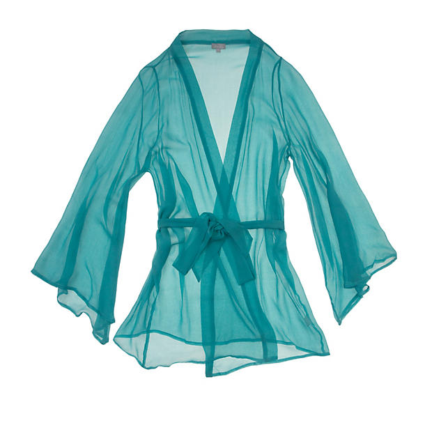 Beautiful Bottoms Aqua Short Night Robe