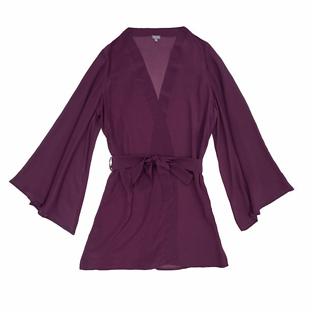 Beautiful Bottoms Plum Short Night Robe
