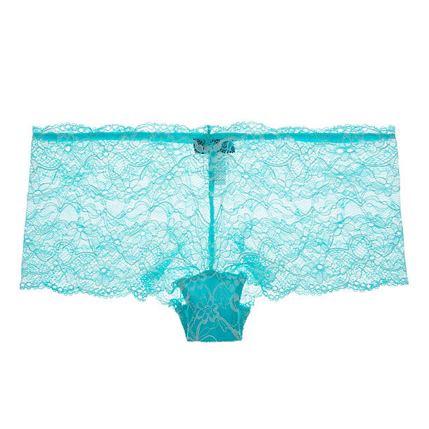 Cosabella Glow in the Dark Lace Low-Rise Hot Pant
