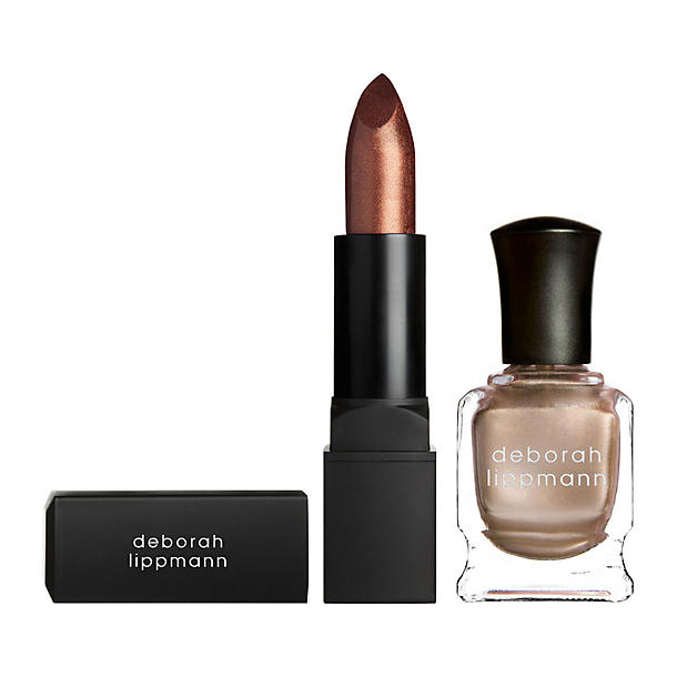 Deborah Lippmann Puttin' on the Ritz Lip & Nail Duet