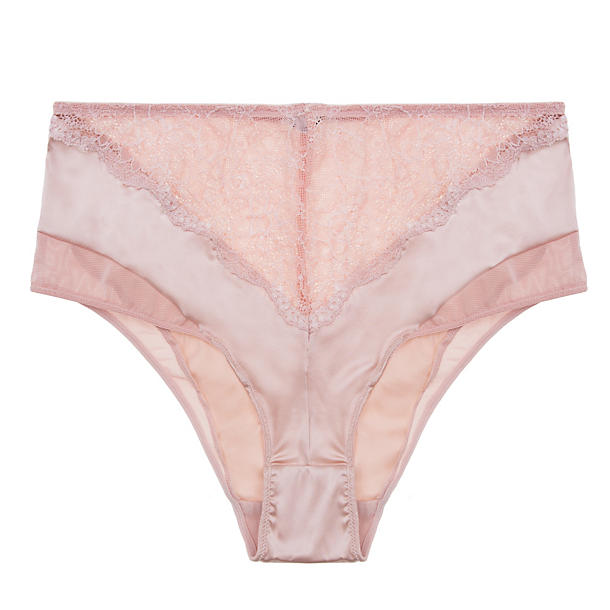 Else Signature Giverny Silk & Lace High Waist Brief