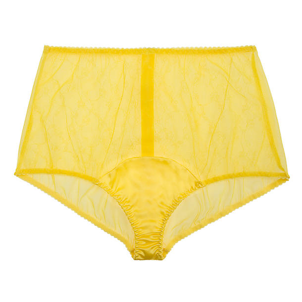 Fleur of England Lemon Cello High Waisted Shortie