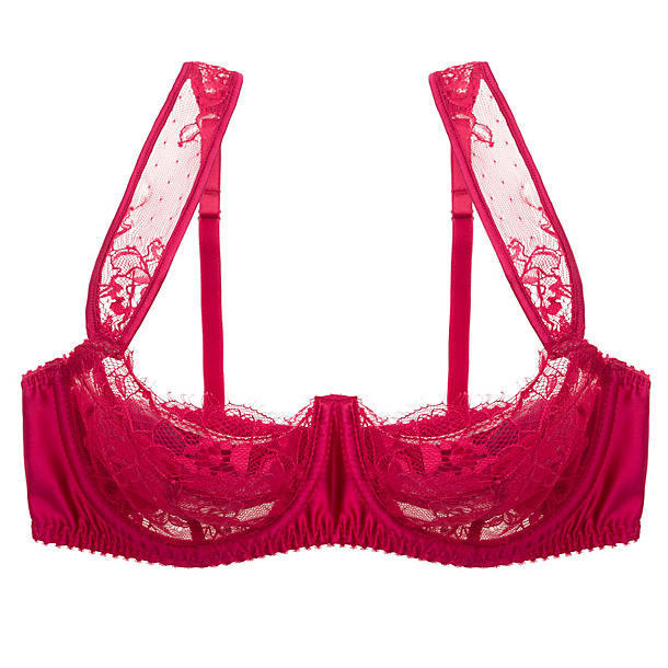 Fleur of England Amour Lace Balcony Bra