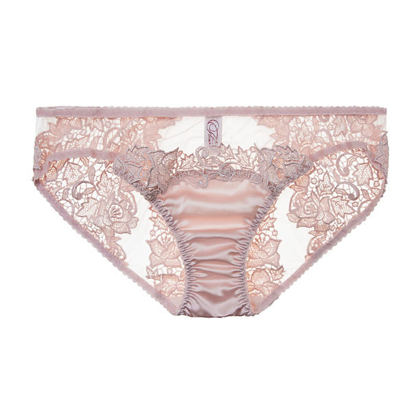 Fleur of England Blush Guipure Brief