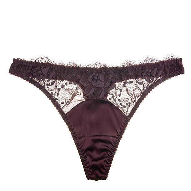 Fleur of England Hot Chocolate Lace Thong