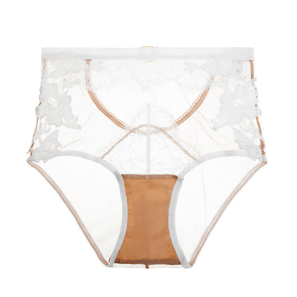 For Love & Lemons Flower Blossom Hi-Waist Panty