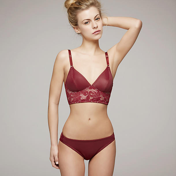 Fortnight Mira Long-Line Bra
