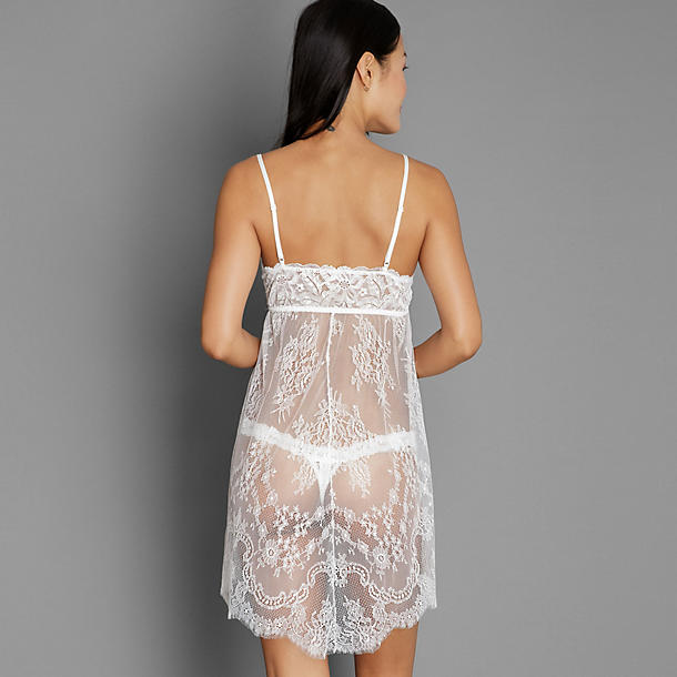 Hanky Panky Victoria chemise w/ thong