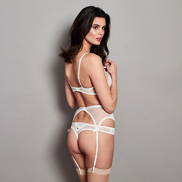 Journelle Bianca Suspender Belt