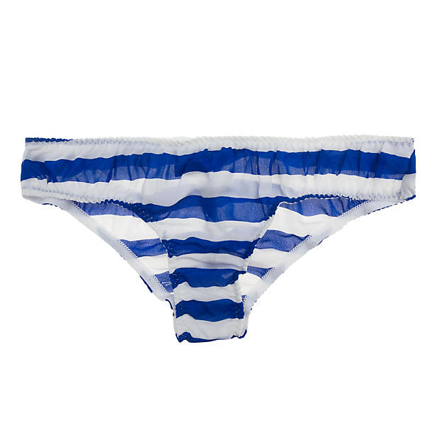 La Fee Verte Silk Stripe Panty