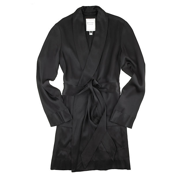 Matters Of Leisure Parlor Double Face Charmeuse Mini Robe