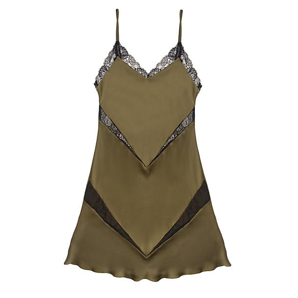 Samantha Chang French Leavers Lace Katie Chemise