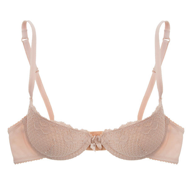 Timpa Duet Lace Half-Cup Padded Bra