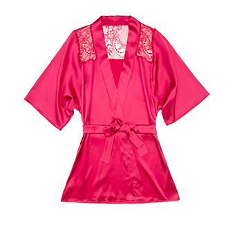 Fleur of England Amour Silk Robe