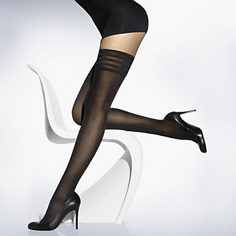 Wolford Velvet De Luxe 50 Opaque Stay-Up