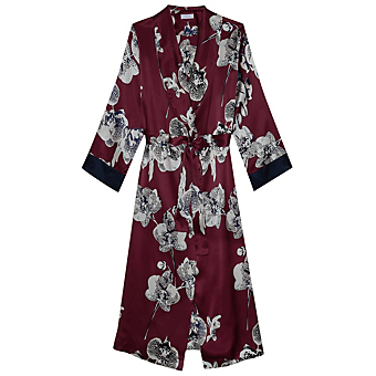 Yolke Queen Orchid Dressing Gown