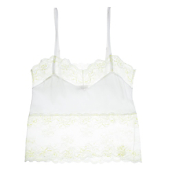 Else Santolina Silk & Lace Camisole