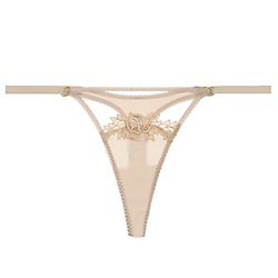 Golden Hour Silk Thong