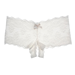 Hanky Panky Steamy Peek-A-Boo Open Brief
