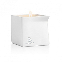 Jimmyjane Afterglow Pink Lotus Massage Candle