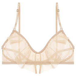 Only Hearts Whisper Ruffle Bralette