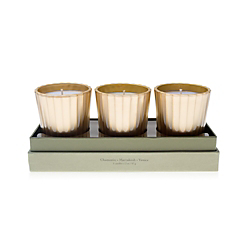 Tocca Candela Da Viaggio Holiday Luxe Candle Set