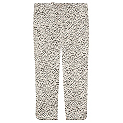 Yolke Leopard Tapered Trouser