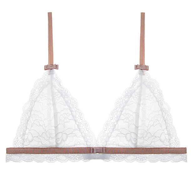 Journelle Gemma Bralette Alabaster/Blush