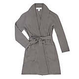 Arlotta Cashmere Shawl Collar Short Robe