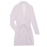 Arlotta Short Wrap Robe with Shawl Collar