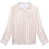Asceno Blush Stripe Modern PJ Top