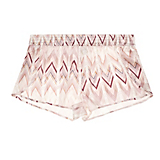 Asceno Rose Chevron Lounge Short