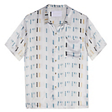 Asceno Arctic Crescent Modern Short Sleeve PJ Top