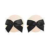 Bordelle Patent Leather Bow Nipplets