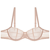 Chantelle Le Marais Unlined Demi Bra