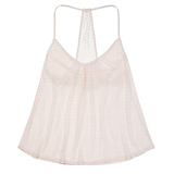 Eberjey Love Letters T-Back Shelf Cami