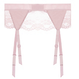 Else Lilly Silk & Lace Garter Belt