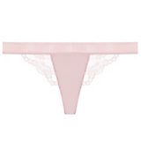 Else Lilly Silk & Lace Thong