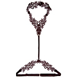 Fleur of England Burgundy Harness