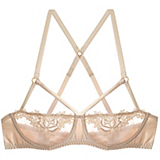 Fleur of England Golden Hour Strap Balcony Bra