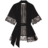 Jacalyn Bennett Chantilly Tulle & Lace Robe