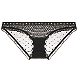 Love Stories Firecracker Graphic Lace Bikini