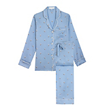 Olivia Von Halle Lila Courtney Pajama Set