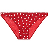 Only Hearts Heart Print Organic Cotton French Bikini