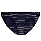Only Hearts Denim Stripe Bikini