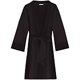 Skin Brushed Cotton Fleece Robe