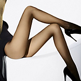 Wolford Individual 10 Sheer Tights(Caramel, XS)