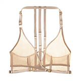 Bordelle Art Deco Mesh Wrap Bra